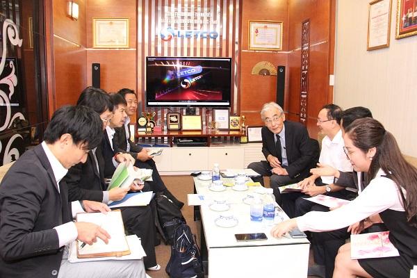 LETCO làm việc với đối tác Nhật Bản