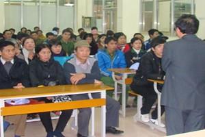 Ký hợp đồng cho TTS đi thực tập ngày 16/03/2011