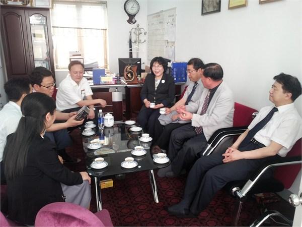 """Lễ bế giảng và trao chứng nhận """" Kết thúc khóa đào tạo cho sinh viên trường đại học KIJEON, Hàn Quốc"""" tại trường Đại học Công nghiệp Hà Nội."""