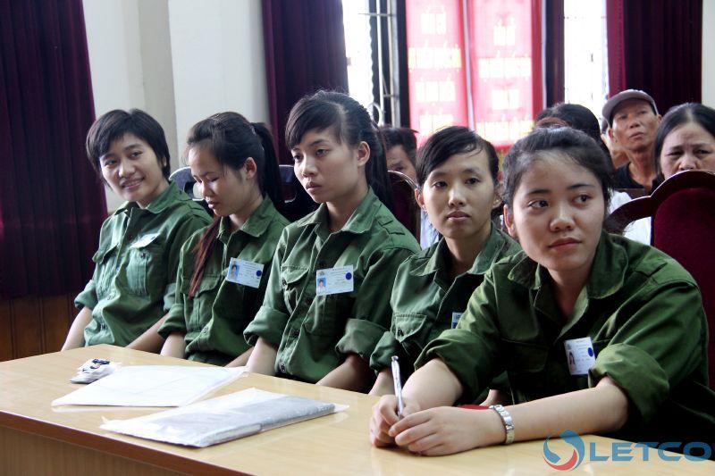 39 thuc tap sinh letco sang nhat lam viec trong thang 06 2016