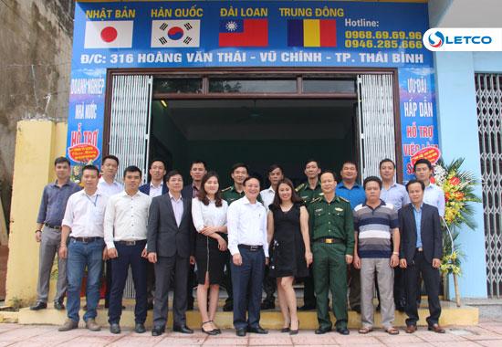 Khai trương điểm tiếp nhận hồ sơ XKLĐ, Du học tại TP. Thái Bình