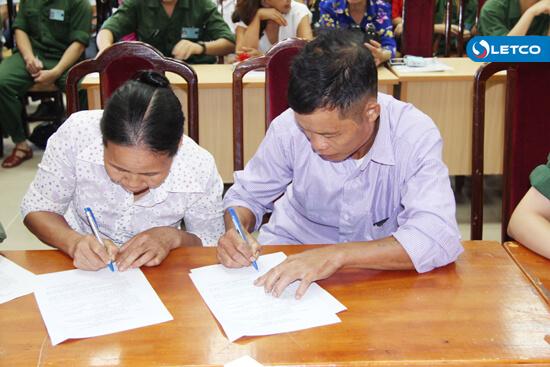 53 TTS tham gia ký hợp đồng xuất cảnh