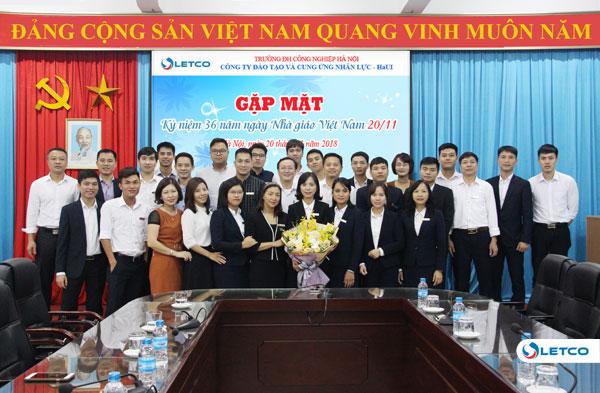 Gặp mặt kỷ niệm 36 năm ngày Nhà giáo Việt Nam