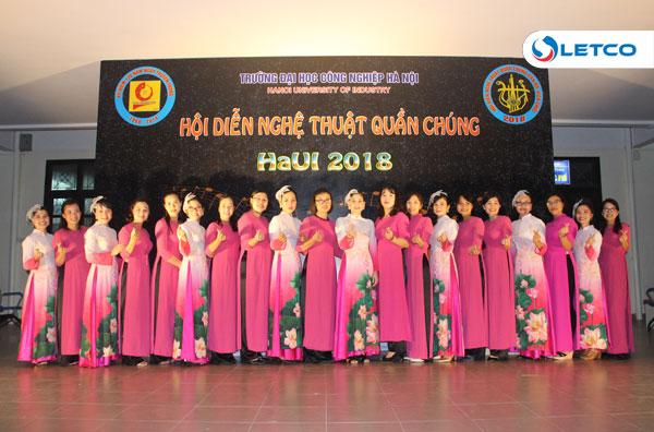 LETCO giành nhiều giải cao tại Hội diễn nghệ thuật quần chúng HaUI 2018