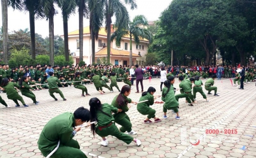 tung bung cac hoat dong van nghe the thao chao mung 15 nam thanh lap cong ty