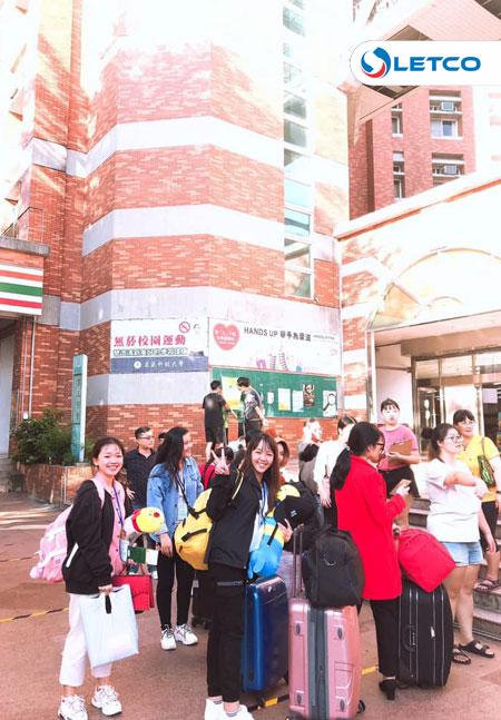 12 DHS nhập học tại trường Cao Uyển (Đài Loan)