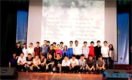 Bế giảng khóa học tiếng Nhật và chia tay Du học sinh kỳ tháng 4/2015