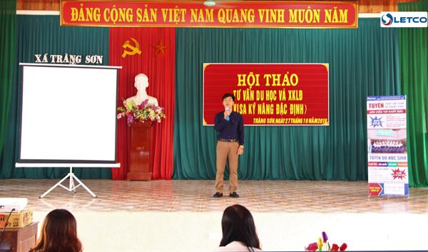 Chủ tịch UBND xã Tràng Sơn (Đô Lương, Nghệ An): Đi XKLĐ tiên quyết phải chính thống, hợp pháp, lựa chọn đơn vị uy tín, trách nhiệm