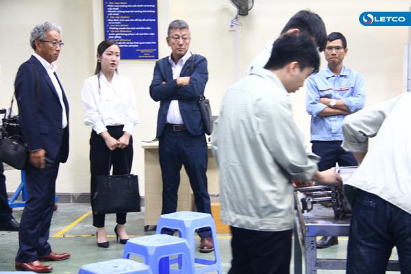 Chủ tịch Nghiệp đoàn Suzurigaoka, Nhật Bản thăm và làm việc tại LETCO