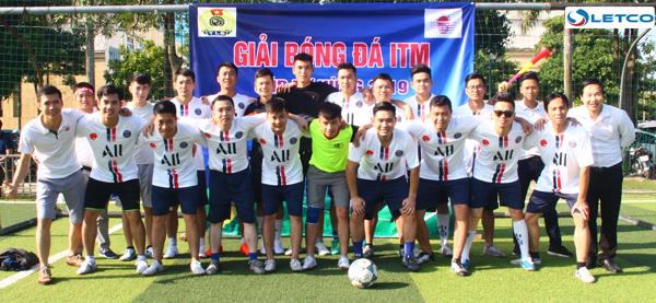 LETCO tham gia Giải bóng đá Cup Tứ hùng ITM 2019
