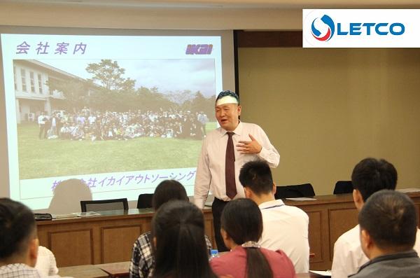 Đại diện công ty IKAI gặp mặt gia đình 12 TTS trúng tuyển