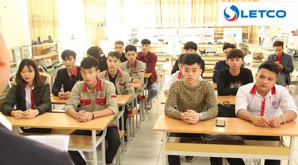 LETCO hợp tác với Trường CĐ nghề Công nghệ cao Hà Nội tuyển chọn Thực tập sinh