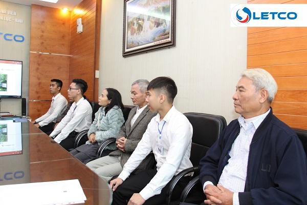 Đại diện công ty Kitamura gặp mặt gia đình TTS trúng tuyển