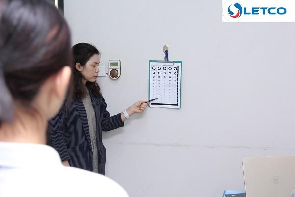Các bài thi theo yêu cầu của Công ty Hairato cho đơn hàng: Mạ kim loại