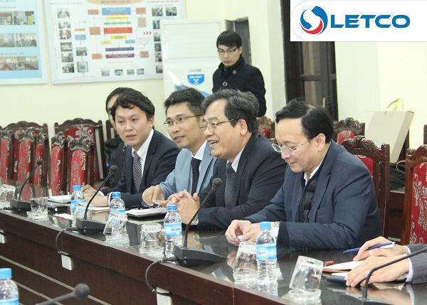 Đại diện tỉnh Saitama (Nhật bản) thăm, làm việc Trường ĐHCNHN và LETCO