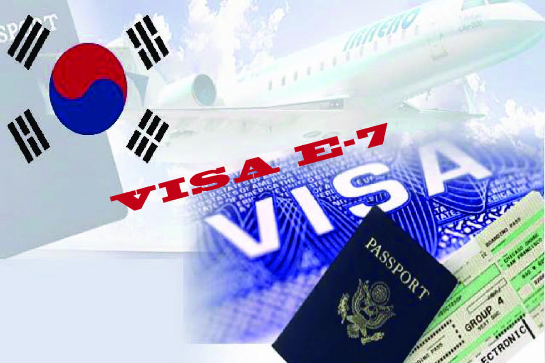 Tất tần tật thông tin và kinh nghiệm xin Visa E7 Hàn Quốc