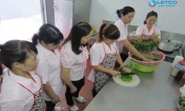 Giờ học thực hành Khán hộ công gia đình Đài Loan