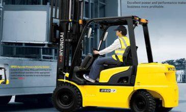 Tuyển gấp 05 lái xe nâng làm việc tại UAE