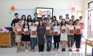 Kết thúc chương trình trao đổi sinh viên năm 2016 – 2017
