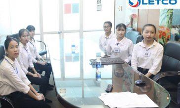 06 nữ Thực tập sinh LETCO trúng tuyển đơn hàng chế biến thực phẩm