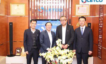 LETCO ký hợp đồng hợp tác với Nghiệp đoàn Kashima