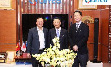 Công ty Komoshita đánh giá cao nhân lực xuất đi từ LETCO