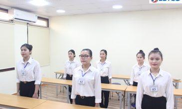 Buổi thi tuyển nữ Thực tập sinh làm việc tại Nhật Bản