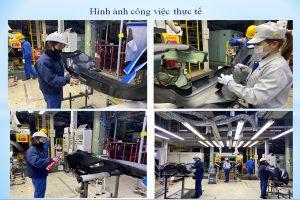 TB89 Tuyển nữ Sơn/Lắp ráp linh kiện nhựa ô tô