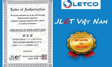LETCO trở thành đơn vị độc quyền tổ chức Kỳ thi năng lực tiếng Nhật (JLCT) Việt Nam