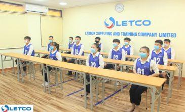 Buổi thi tuyển Thực tập sinh làm việc tại Nhật Bản