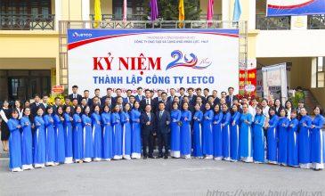 Công ty LETCO 20 năm XÂY DỰNG & PHÁT TRIỂN